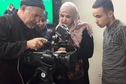 Début des cours pour le nouveau groupe Opérateur de prise de vues vidéo